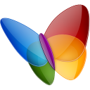 128x128px size png icon of Papillon MSN