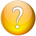 128x128px size png icon of Question