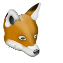 128x128px size png icon of Renard