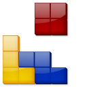 128x128px size png icon of Tetris