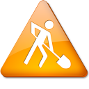 128x128px size png icon of Travaux