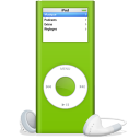 128x128px size png icon of iPod nano vert