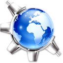 128x128px size png icon of About KDE