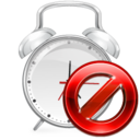 128x128px size png icon of Alarm Disabled