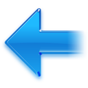 128x128px size png icon of Back Arrow