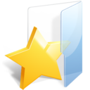 128x128px size png icon of Bookmark Folder