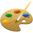 128x128px size png icon of Colorize