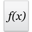 128x128px size png icon of Functions