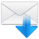 128x128px size png icon of Mail Get