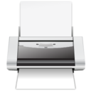 128x128px size png icon of Print File
