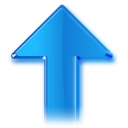 128x128px size png icon of Up
