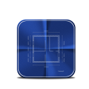 128x128px size png icon of blueprint