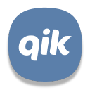 128x128px size png icon of Qik