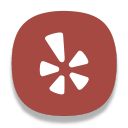 128x128px size png icon of Yelp
