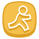 128x128px size png icon of Aim