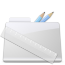 128x128px size png icon of Application Folder smooth