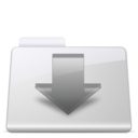 128x128px size png icon of Downloads Folder smooth