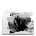 128x128px size png icon of Images Folder smooth