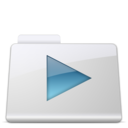 128x128px size png icon of Movies Folder smooth