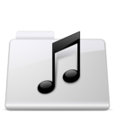 128x128px size png icon of Music Folder smooth