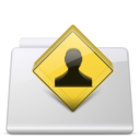 128x128px size png icon of Public Folder smooth