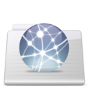 Sites Folder Graphite Icon