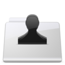 128x128px size png icon of Users Folder smooth