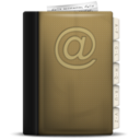 128x128px size png icon of Phonebook