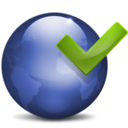 128x128px size png icon of World