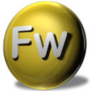 128x128px size png icon of Adobe Fireworks