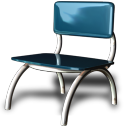 128x128px size png icon of Chair