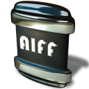 128x128px size png icon of File AIFF