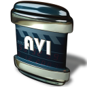 128x128px size png icon of File AVI