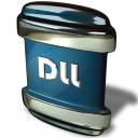 128x128px size png icon of File DLL