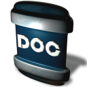 128x128px size png icon of File DOC