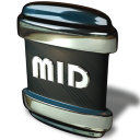 128x128px size png icon of File MID