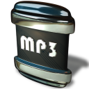 128x128px size png icon of File MP 3