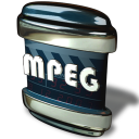 128x128px size png icon of File MPEG