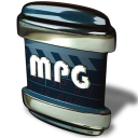 128x128px size png icon of File MPG