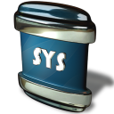 128x128px size png icon of File SYS