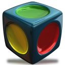 128x128px size png icon of Program Group