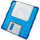 128x128px size png icon of Floppy