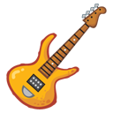128x128px size png icon of Garage band