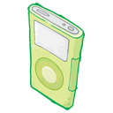 IPod Green Icon