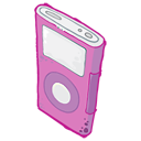 128x128px size png icon of IPod Pink