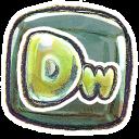 128x128px size png icon of G12 Adobe Dreamweaver 2