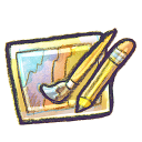 128x128px size png icon of G12 Art