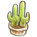 128x128px size png icon of G12 Flowerpot Cacti