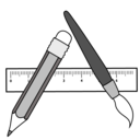 128x128px size png icon of applicationstoolbarfolder