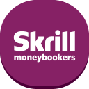 128x128px size png icon of skrill moneybookers